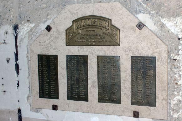 2nd Ranger Battalion Memorial Point du Hoc