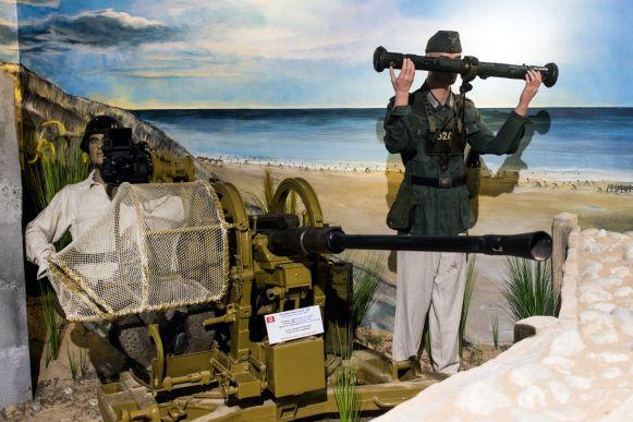 Deutsche Stellung D-Day Omaha Beach Museum