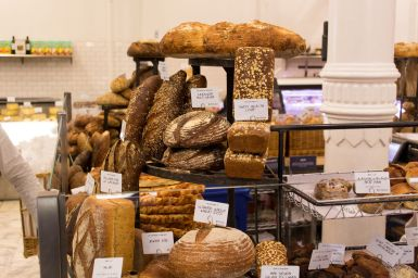 Internationales Brot bei Dean & Deluca - New York City