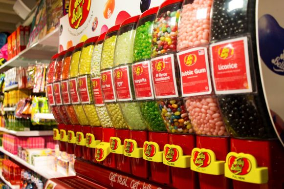 Jelly Beans bei It's Sugar in New York