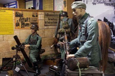 Mörserstellung D-Day im Omaha Beach Museum