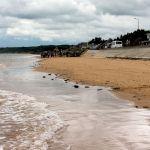 Omaha Beach bei Saint Laurent sur Mer Richtung Osten