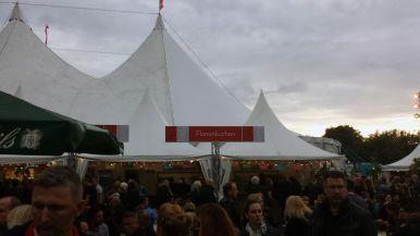 Flammkuchen beim Zeltfestival Ruhr