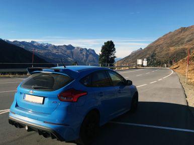 Ford Focus RS am Timmelsjoch