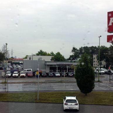 KFC Parkplatz in Essen