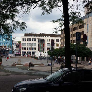 Kennedyplatz in Essen