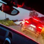 Porsche Geländestrecke Schräglage