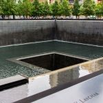 9 11 Memorial Waterfalls New York City World Trade Center