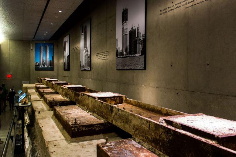 9 11 World Trade Center Fundament Träger New York City