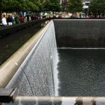 Wasserfall am 9 11 Memorial World Trade Center New York City