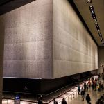 World Trade Center Fundament 9 11 Museum New York City