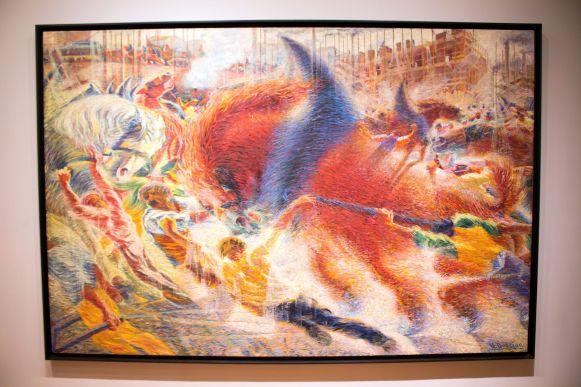 Die Stadt erhebt sich - Umberto Boccioni, MoMA