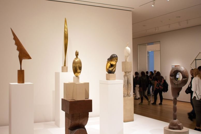 Diverse Statuen im MoMA