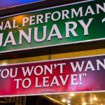 Final Performance Broadway New York City