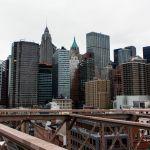Lower Manhattan from Brooklyn Bridge