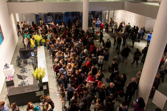 MoMA Crowd on a Friday Evening