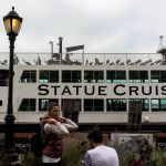 Statue Cruises at the Battery Park, New York City
