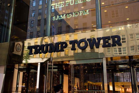 Trump Tower Main Entrance
