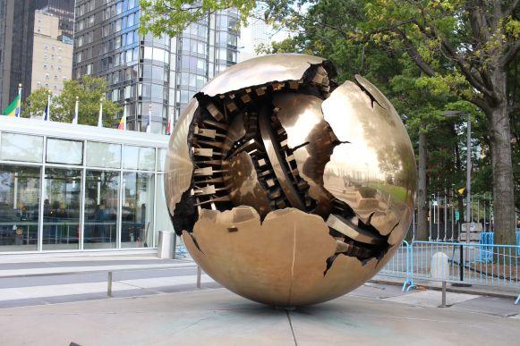 Weltkugel UN New York