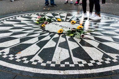 Imagine John Lennon Memorial in Central Park New York City