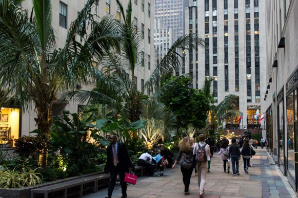 Shopping at the Rockefeller Center New York City