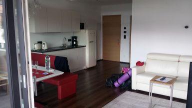 Ferienwohnungen, Apartmenthaus Tisense Südtirol - Wohnzimmer