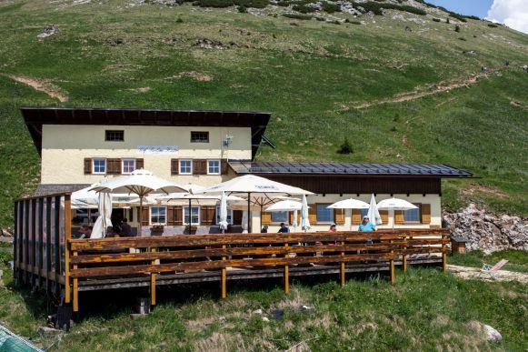 Paolina Hütte, Rosengarten