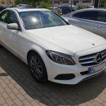 Mercedes Benz C220d Limousine in weiß