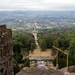 Blick über Kassel vom Herkules aus