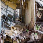 Eingetürzter Gang Hotel Fürstenhof, Eisenach