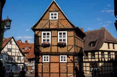 Fachwerkhaus in Quedlinburg im Harz