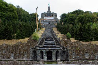 Kaskaden von unten, Bergpark Wilhelmshöhe, Kassel