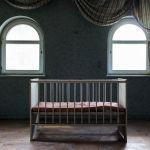 Kinderbett im Hotel Fürstenhof, Eisenach