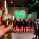 We say proost, Heineken Experience Amsterdam
