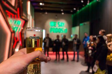 We say proost, Heineken Experience Amsterdam