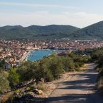 Bucht von Vela Luka, Korcula, Kroatien
