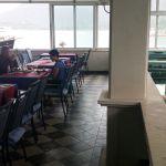 Gastraum mit Austernbecken Villa Koruna, Kroatien