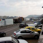 Autos am Donauufer, Budapest