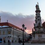 Burgberg bei Sonnenuntergang, Budapest