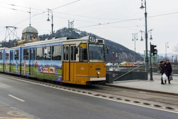 Straßenbahn in Budapest, Ungarn