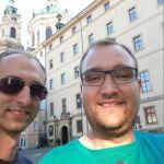 Team AllgäuRacing am Rallyeziel 2019