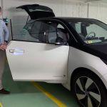 Thomas mit BMW i3 in Budapest