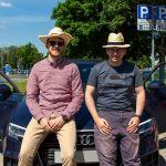 Uwe und Thomas mit Audi A3
