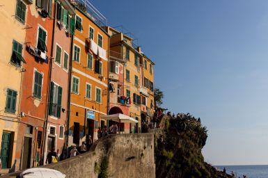 Häuser in Riomaggiore, Cinque Terre