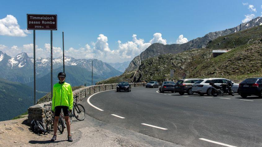 Auf dem Timmelsjoch, Alpen