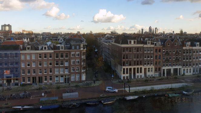 Ausblick auf De Pijp vom NH Hotel Museums Quarter aus