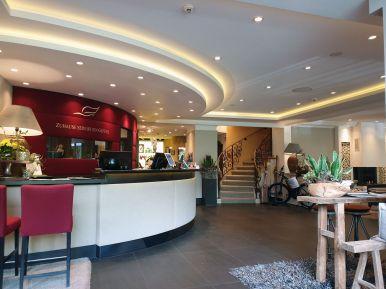 Eingangsbereich Hotel Romantischer Winkel