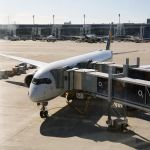 Lufthansa Airbus A350-900 am Flughafen München