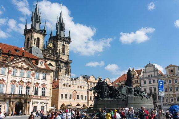 Rathausplatz Prag