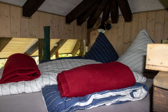 Schlafplatz Baumaquarium